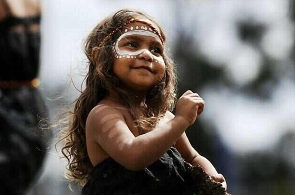 little aboriginal girl - CHILD OF LIGHT WORKSHOP