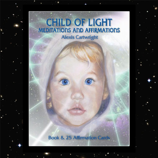 COL Book Covers for Web 510x510 - CHILD OF LIGHT MEDITATION BOOK & CARD SET