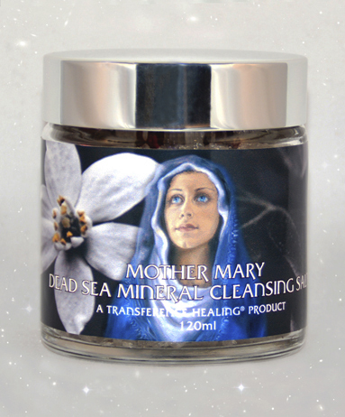 sea salts white starry background - MOTHER MARY BATH SALTS 120ml