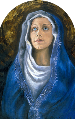 MOTHER MARY SACRED OILS GODDESSES 100 DPI WEB READY PNG - GODS & GODDESSES OF THE MYSTERY SCHOOL