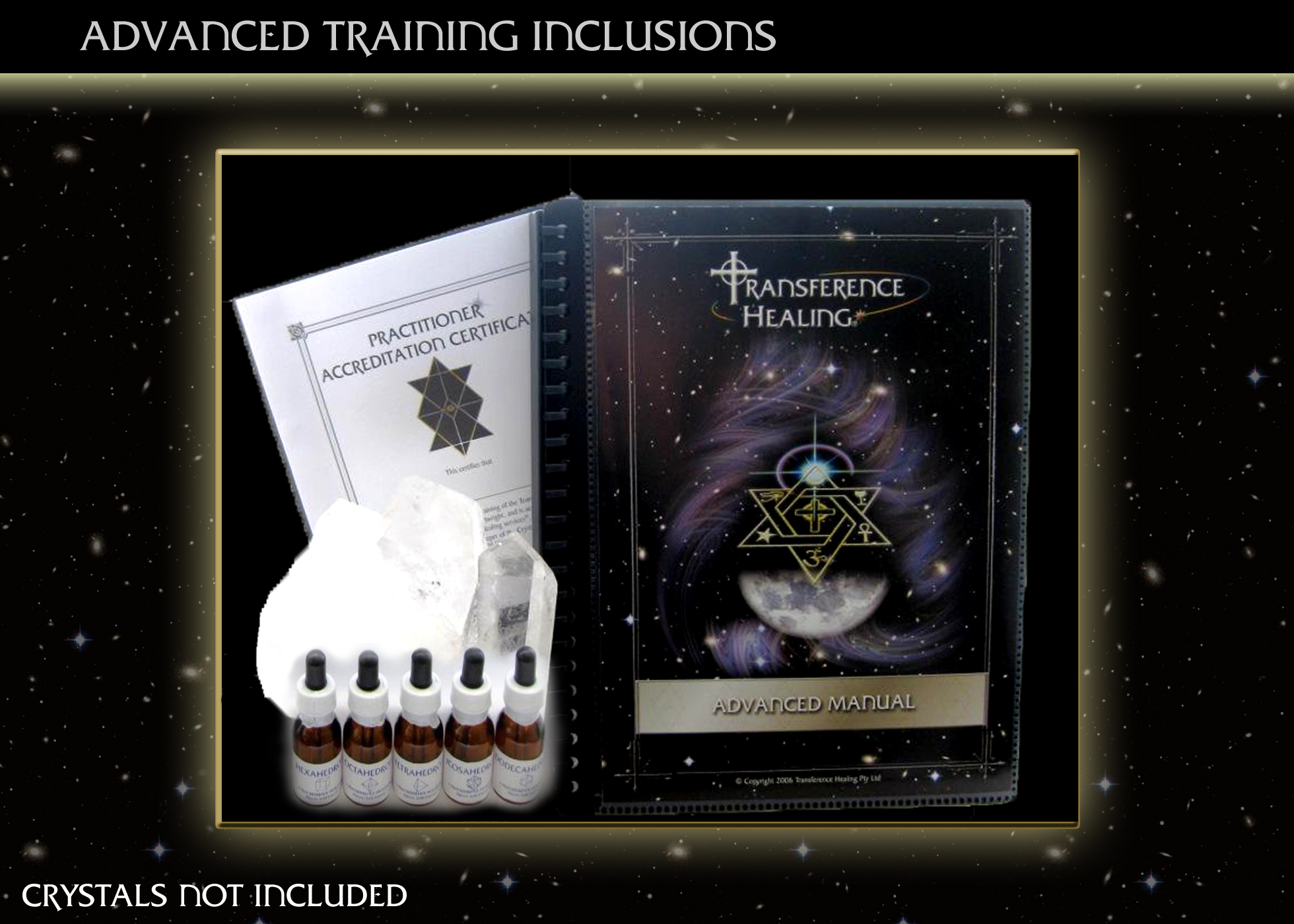 ADVANCED TRAINING INCLUSIONS