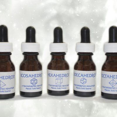 PLATONIC SOLIDS ESSENCE SET FROM TRANSFERENCE HEALING