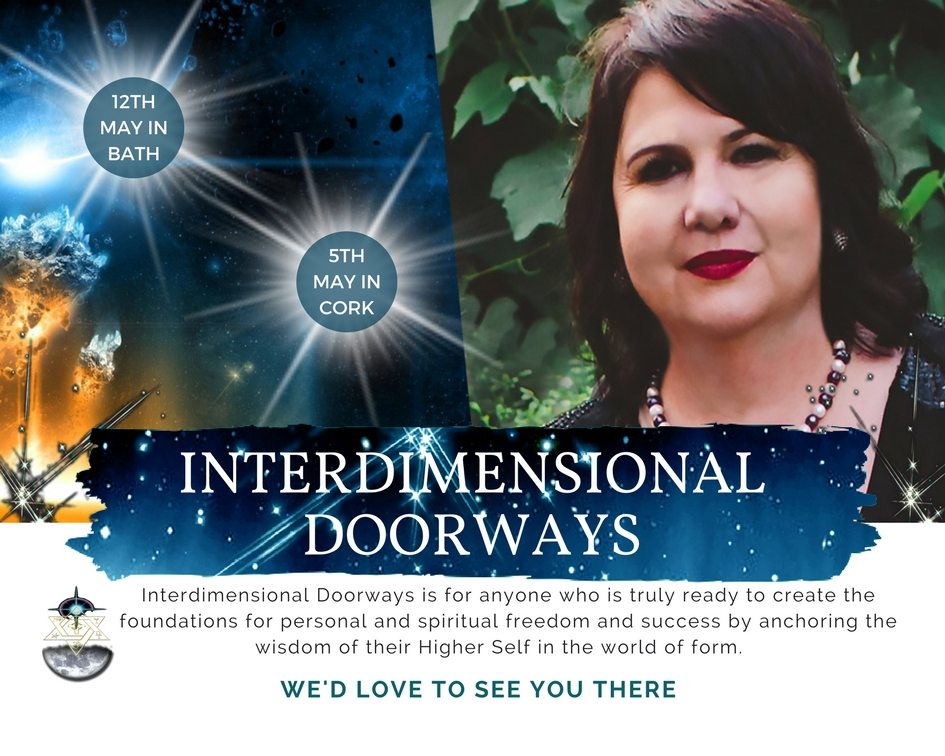 2018 INTERDIMENSIONAL DOORWAYS IRELAND & ENGLAND WITH ALEXIS CARTWRIGHT FROM TRANSFERENCE HEALING